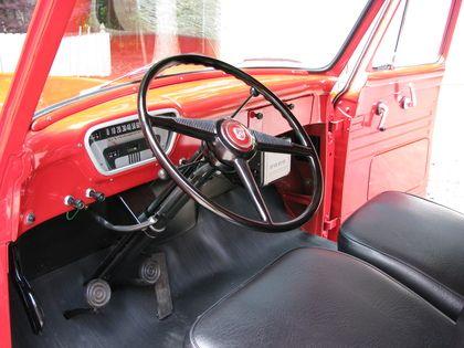 1953 1956 Ford Trucks Classictrucks Net Ford Trucks 1956 Ford Truck Truck Interior