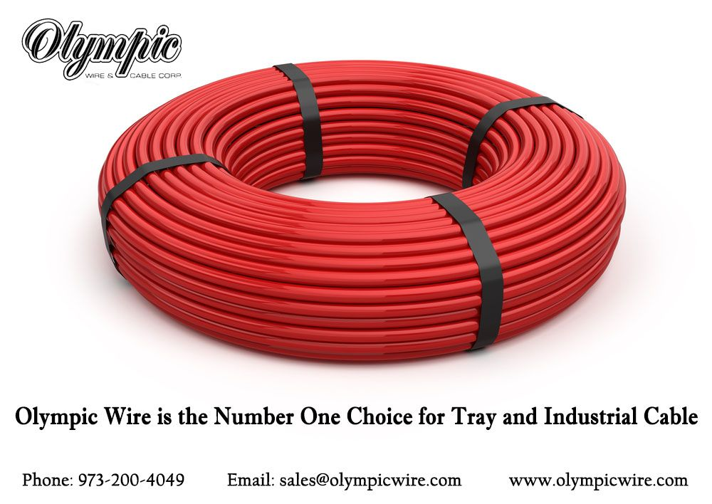 Olympic Wire is the Number One Choice for Tray and Industrial Cable ...