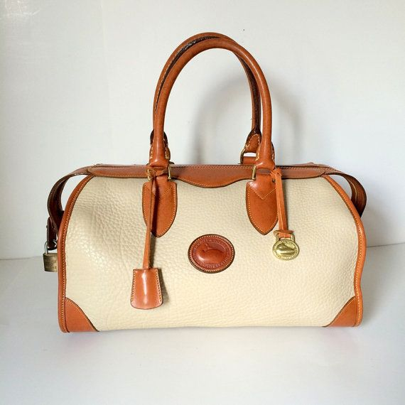 45b755e50 Vintage Dooney And Bourke R91 Gladstone Doctor by pascalvintage ...