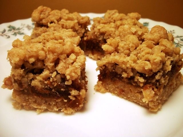 Grandma's Old Fashion Date Squares