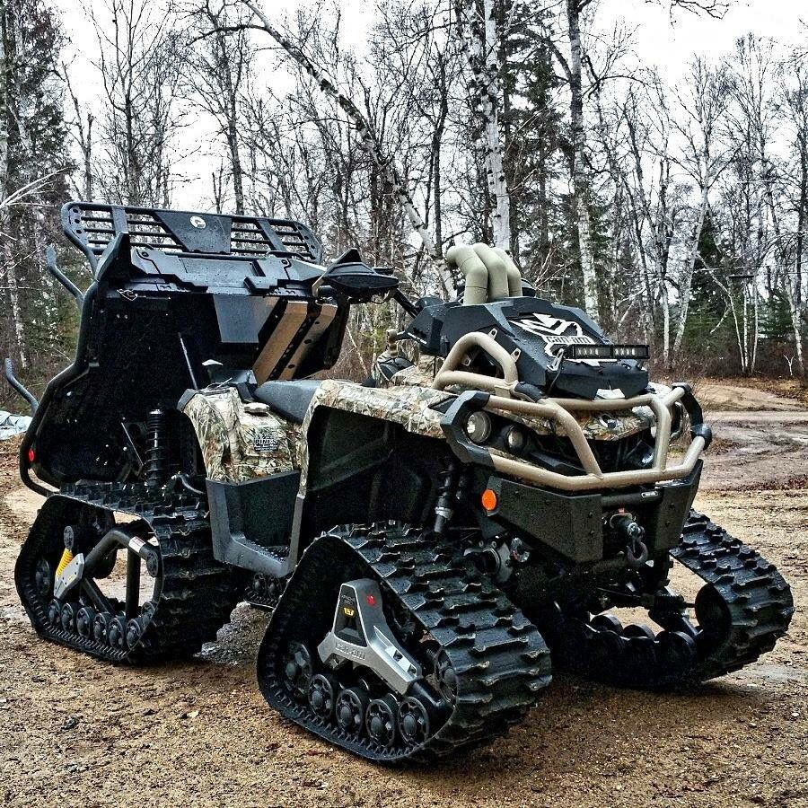 Can am 6x6 on tracks