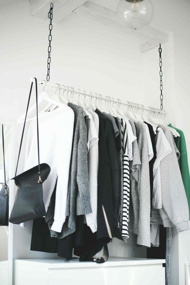 Newest Free Of Charge Diy Wardrobe Area Hanging Clothes Rail