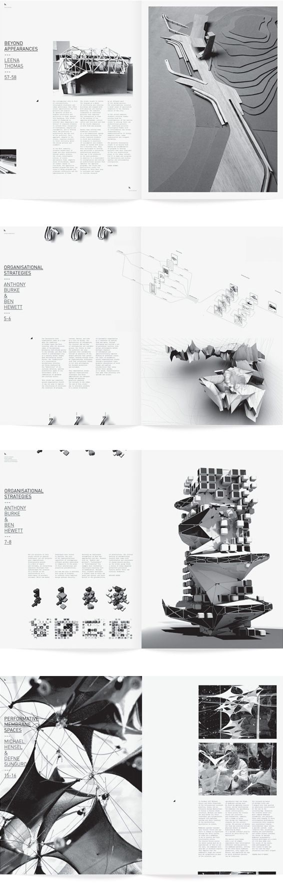 book pr u00e9sentation verticale  utilisation du noir et blanc uts school of architecture materials