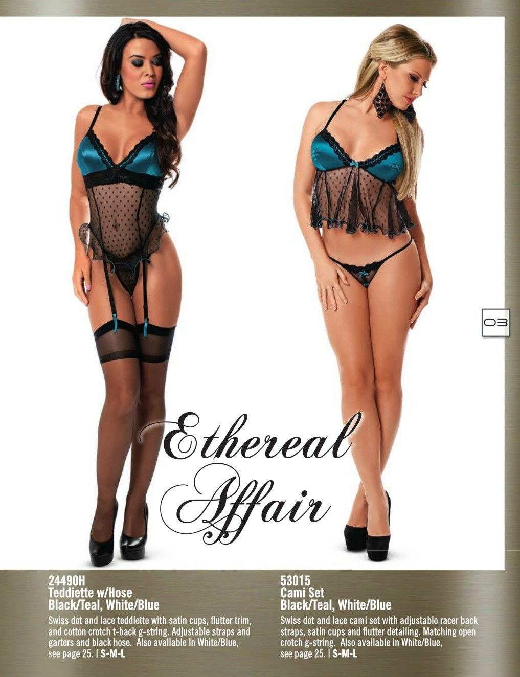 61d73cdfded51 Ethereal Lingerie Collection