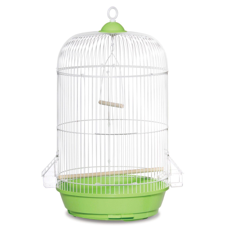 Prevue Hendryx Classic Round Bird Cage In Green - Petco