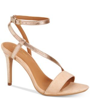 Calvin Klein Nyssa Strappy Sandals, on sale in 3 colors here: http://rstyle.me/~a1qJk