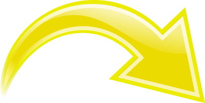Arrow Curved Yellow Right