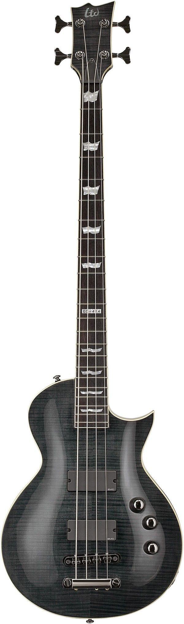 ESP LTD EC-414FM | Guitars | Pinterest | Bass, Guitars and Instruments