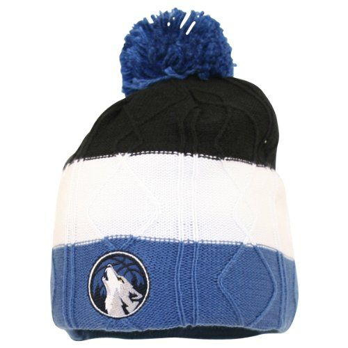 b4e154cf67650a Adidas NBA Women's Fashion Pom Top Winter Knit Hat / Beanie - Minnesota  Timberwolves - Price: $22.00