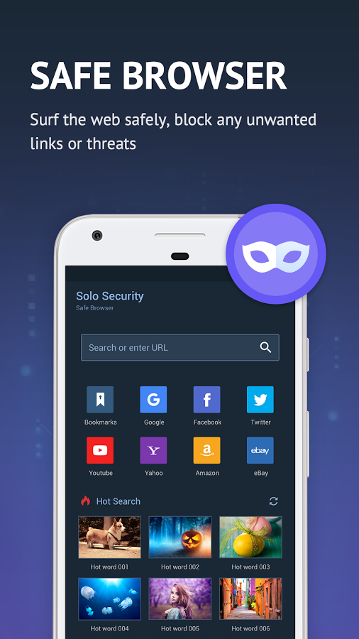 Solo Security 免费杀毒、隐私保护 Google Play Store 的热门 App