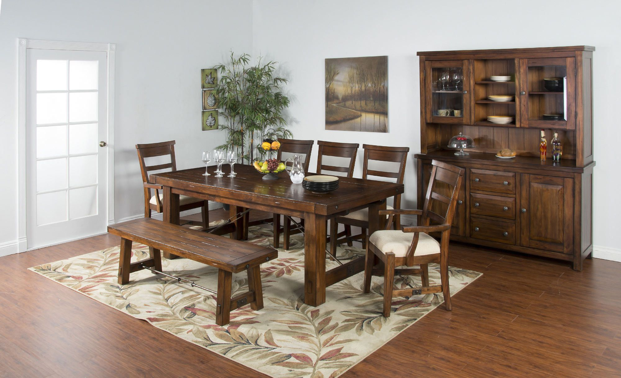 Tuscany Extension Dining Room Set | Sunny Designs ...