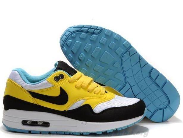 super popular 6361e 22e6f Cheap Womens Nike Air Max 1 319986-700 Citrine Yellow Gridiron W