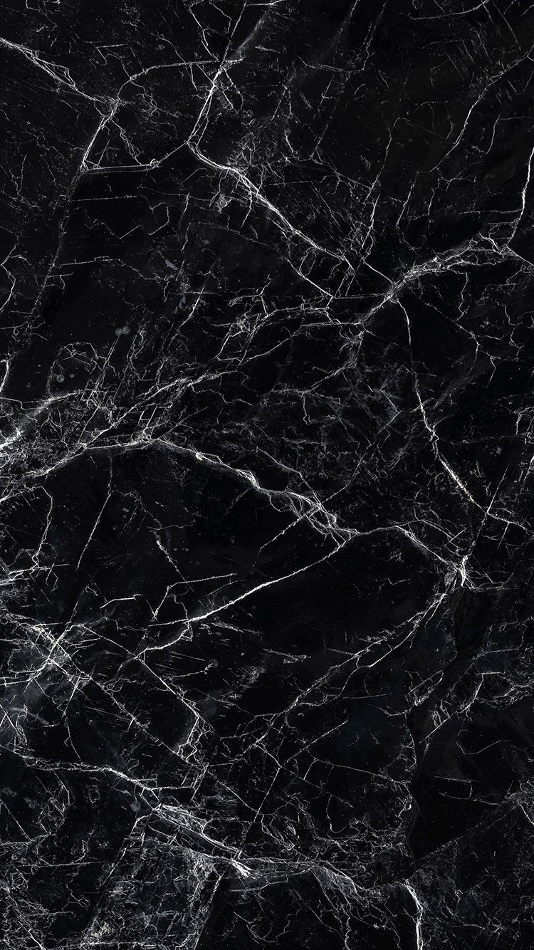 Black marble IPhone wallpaper, backgrounds