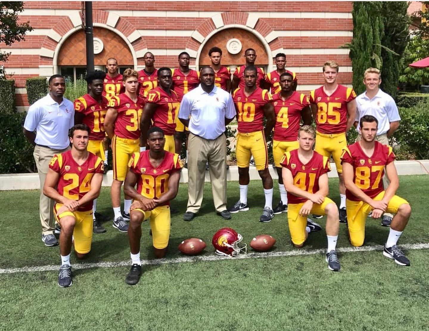 usc football jersey number 9