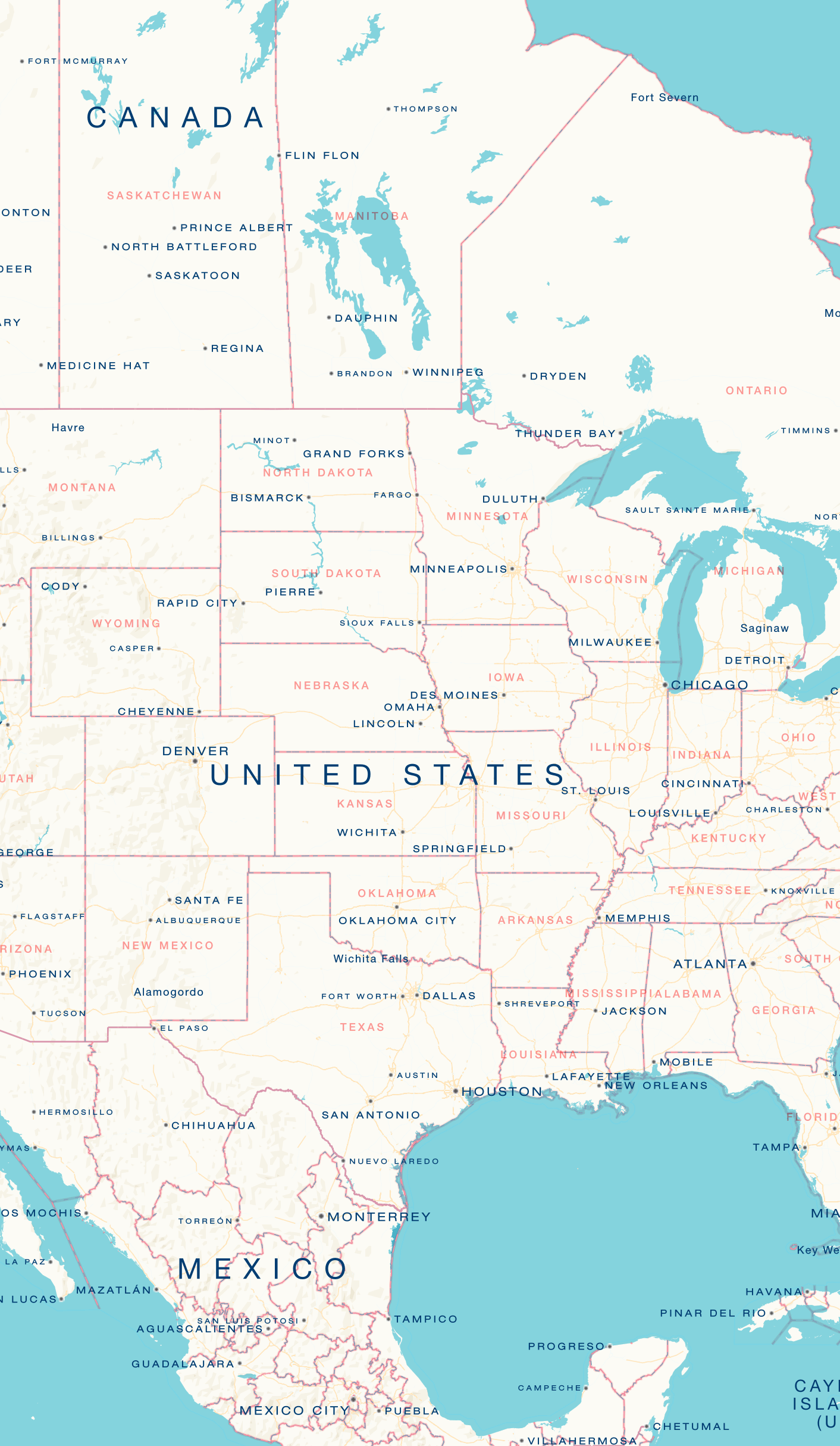 a map of united states of america american road tripsplaces