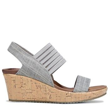 37e9cb2d31aa Struck with the cute and easy styling of the Beverlee Smitten Kitten Wedge  Sandal from Skechers