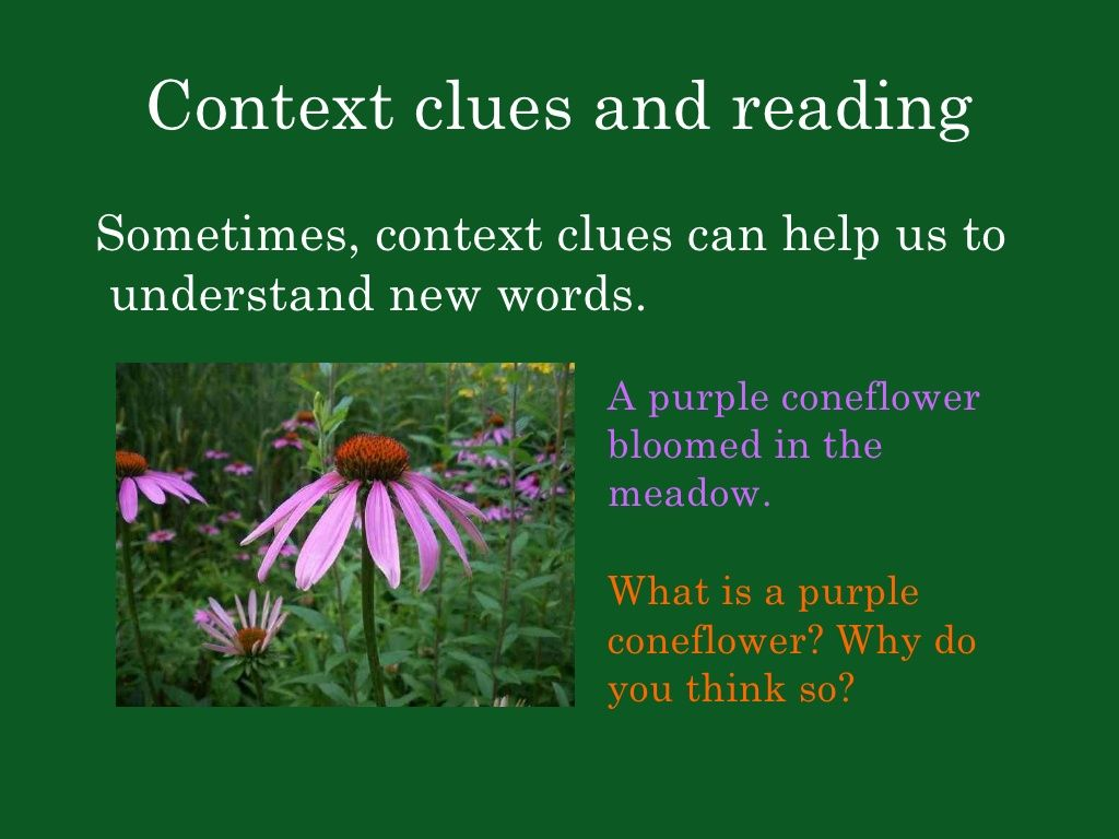 Context Clues Great From Slideshare