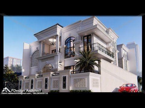 rumah mewah 2 lantai bernuansa timur tengah (qrs house