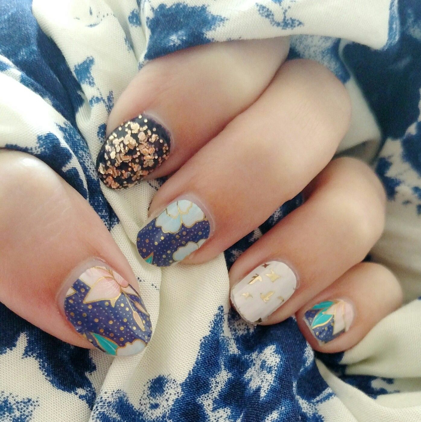 Dazzle The World wraps paired with Your Own Way wraps from the July ...