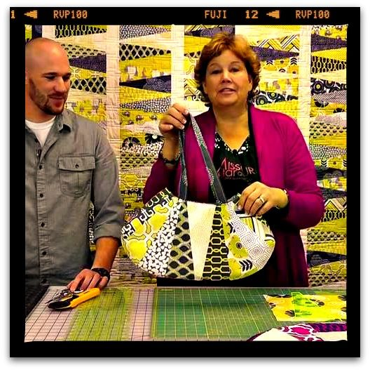 Sew The Dresden Purse - Make a Gorgeous Handbag Using Layer Cakes!