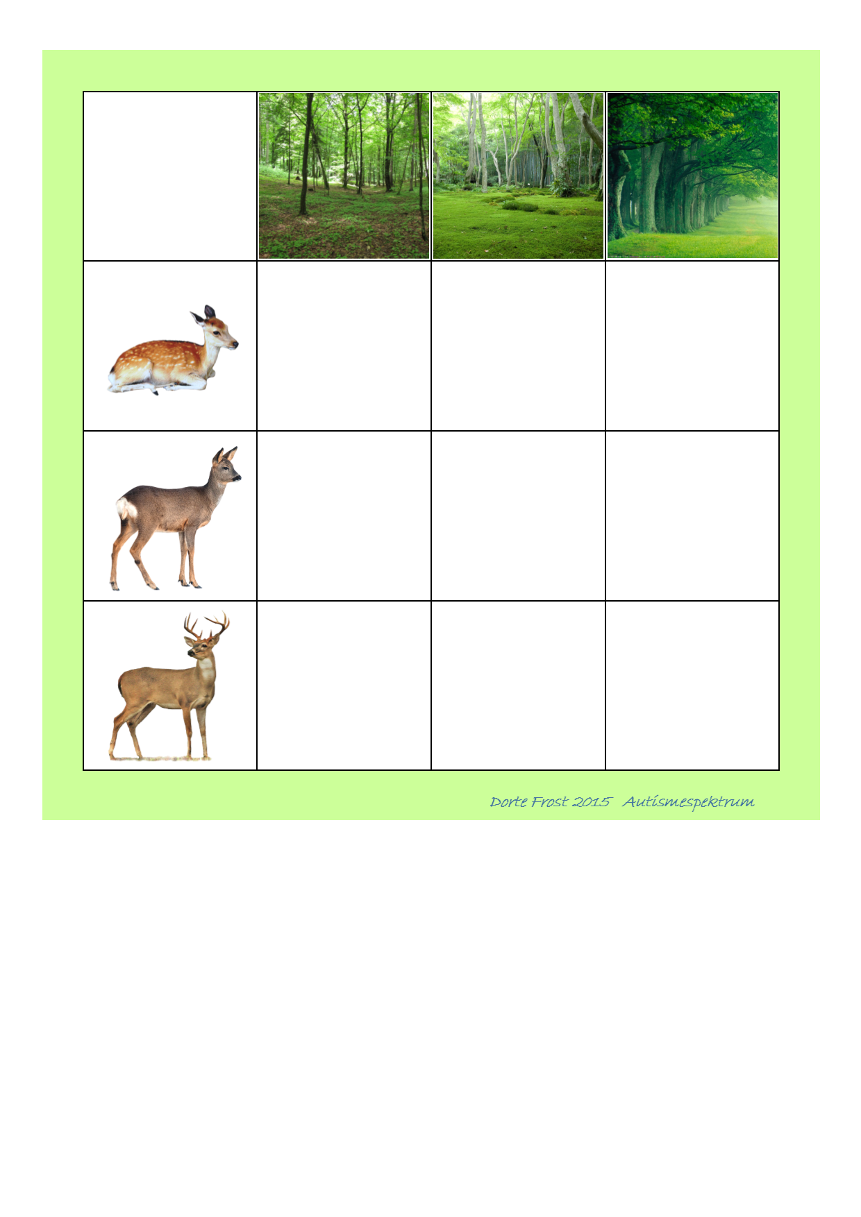 Board for the matrix game. Find the belonging tiles on ...