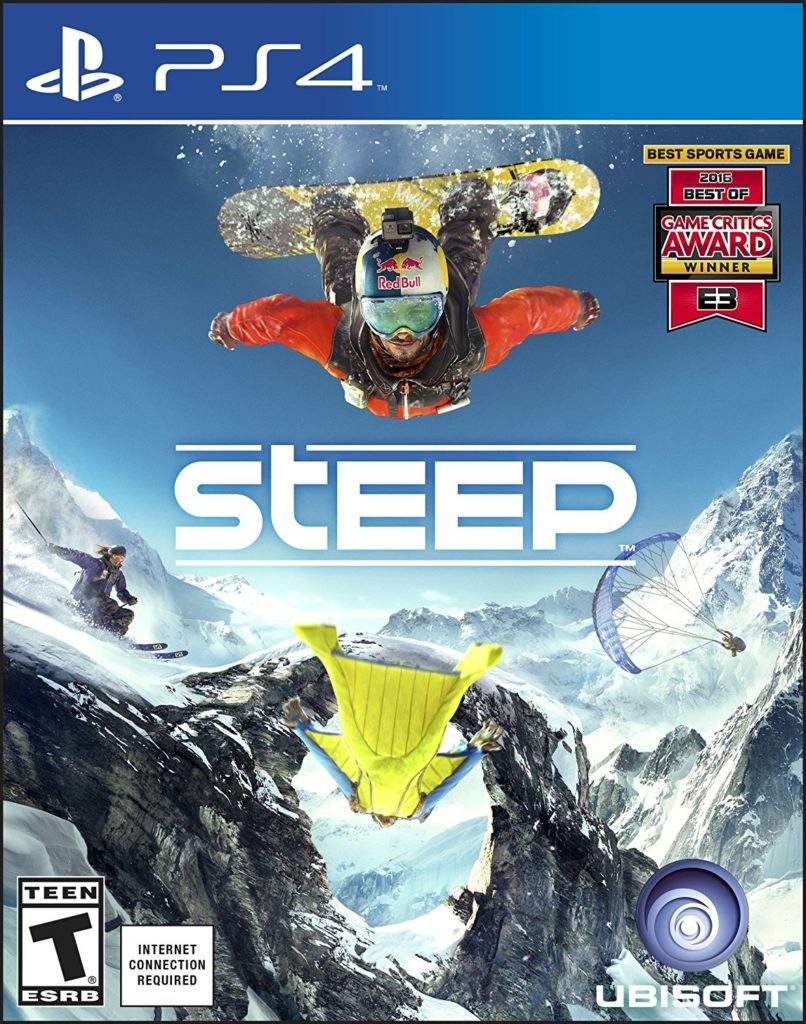 Steep Game Cover Front Art Playstation 4 Ps4 Playstation4