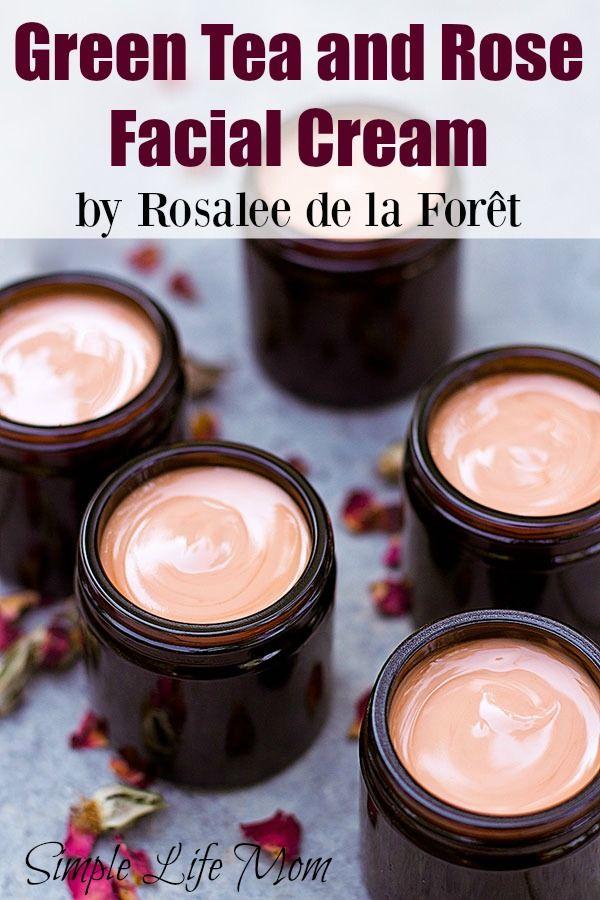 Photo of Green Tea and Rose Facial Cream | Simple Life Mom