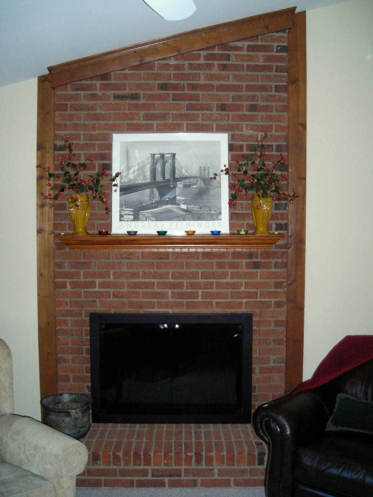 Fireplace Decoration Designs With Brick Remodel Dallas Texas Wall Living Room Shelves Decorating Walls Around Home Decor Target