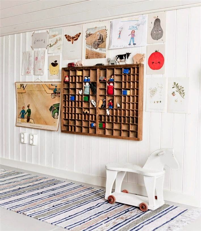 the boo and the boy: kids' room vignettes