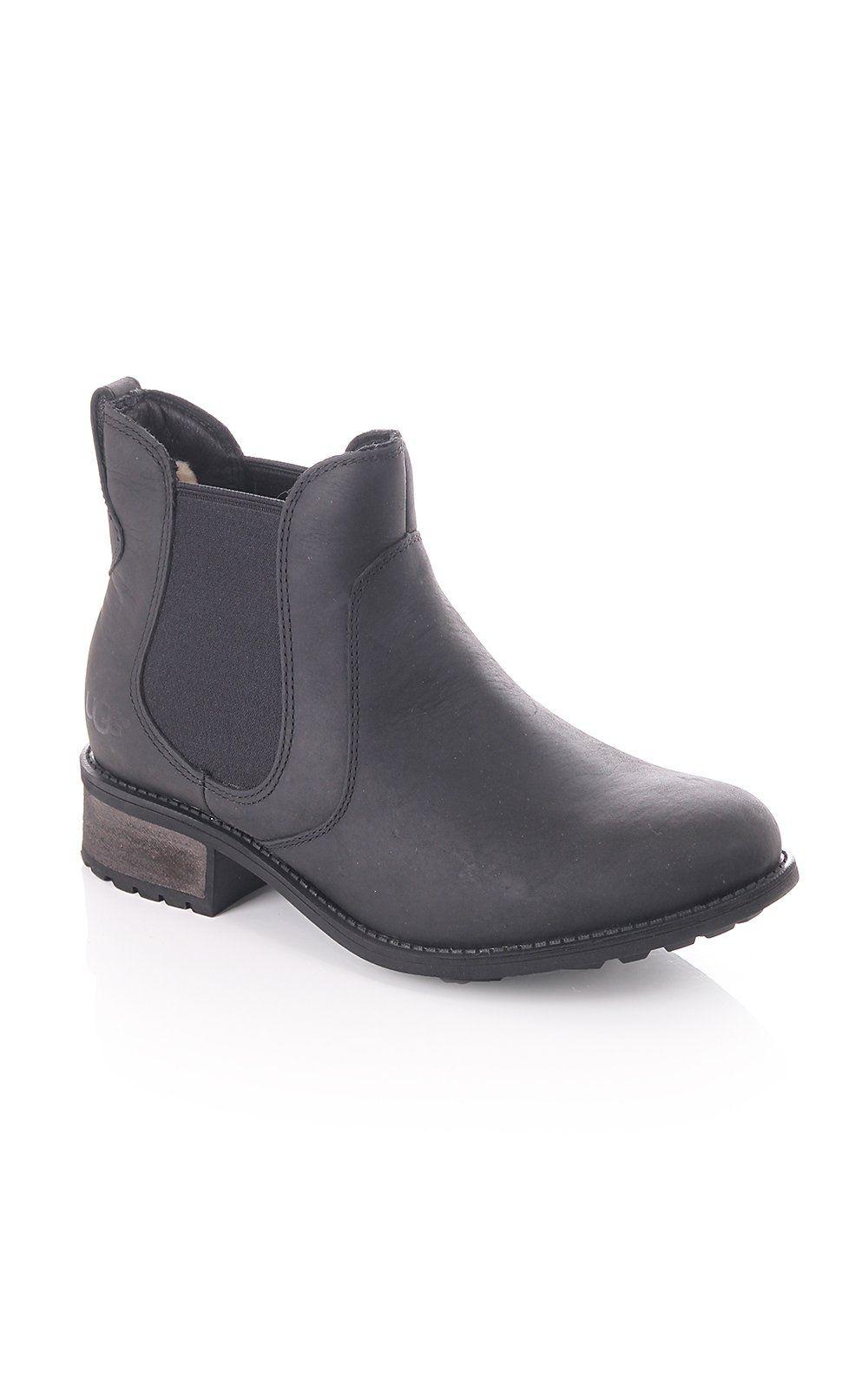 01c266d478f Ugg Australia Bonham Water resistant Ankle Boot Black | UGG AW15