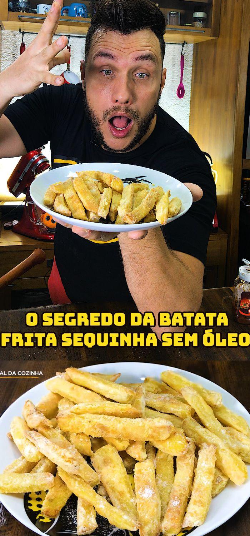 O Segredo Das Batatas Fritas Ao Forno Sem Oleo Batata