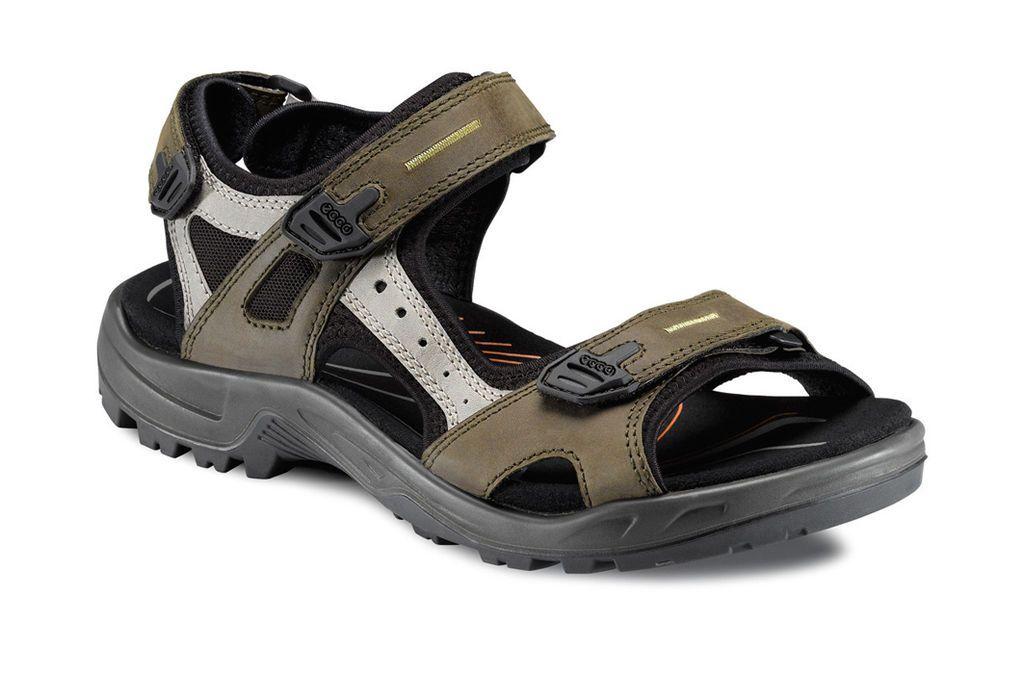 ECCO Mens Yucatan Sandal (TARMAC/MOON