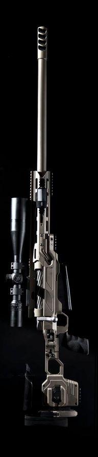 Sniper rifle - A Cheytac I think...