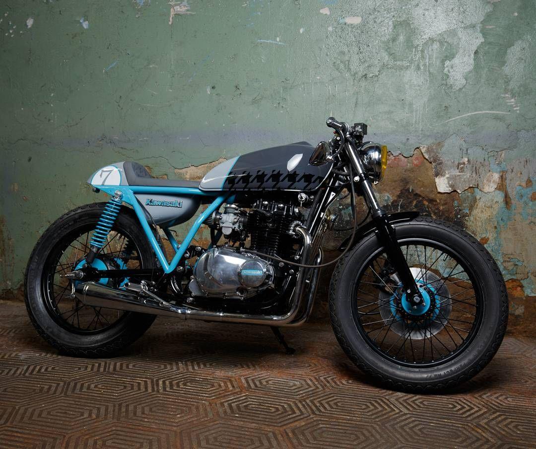 Kawasaki KZ400 Cafe Racer By Sparta Garage Motorcycles Caferacer Motos