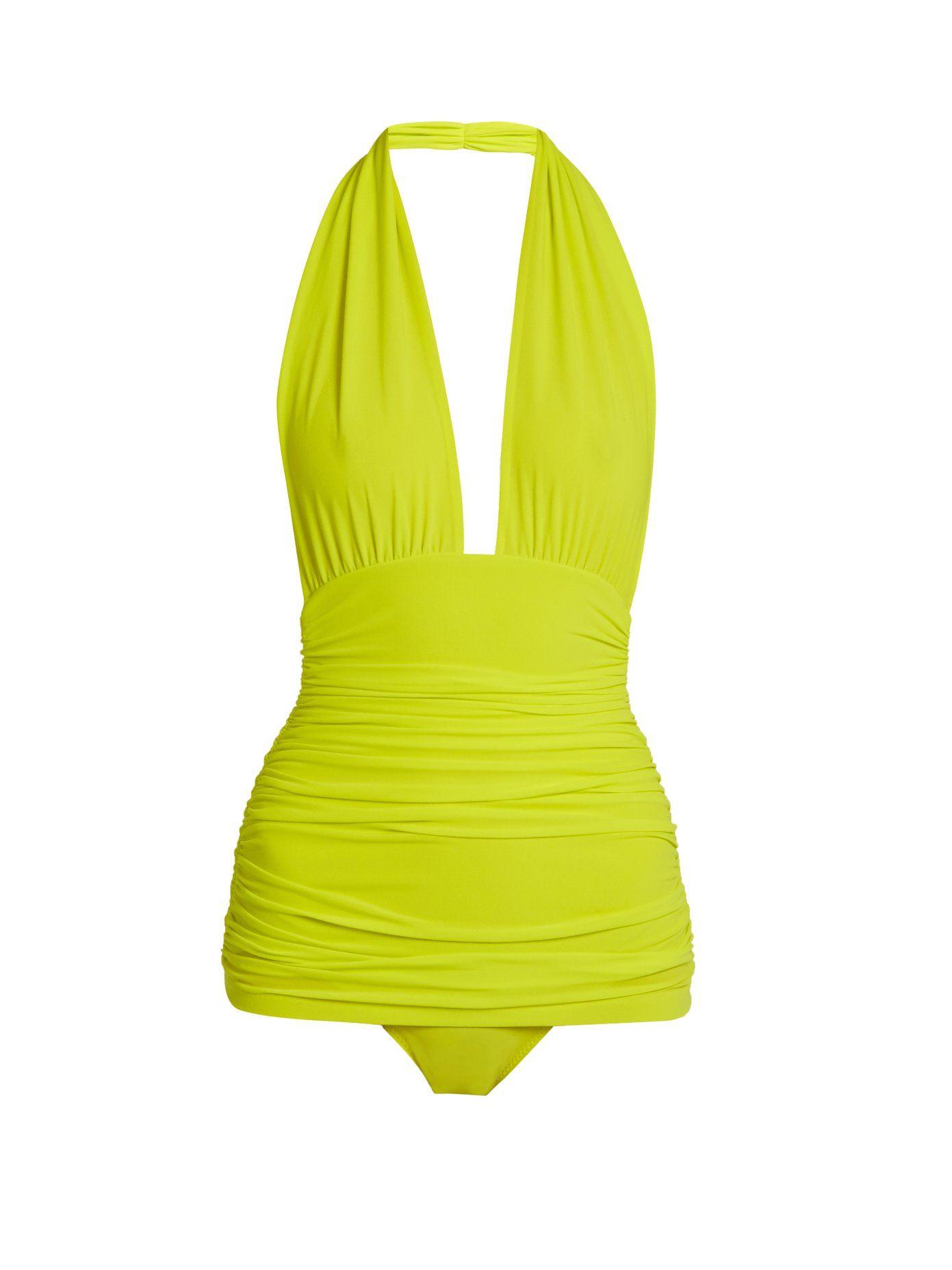72c6b7f20b Bill Halter swimsuit | Norma Kamali | MATCHESFASHION.COM US ...