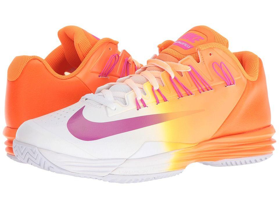 NIKE NIKE - LUNAR BALLISTEC 1.5 (BRIGHT CITRUS/FRESH PINK-WHITE-TOTAL. Men's  ShoesShoes ...