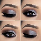 Stylish Silver Eye Makeup – Typical Miracle