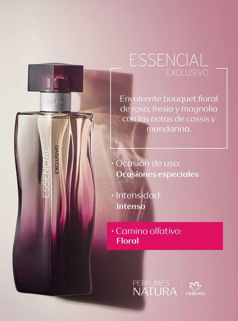 ESSENCIAL EXCLUSIVO FEMENINO | Perfume, Perfumeria, Natura