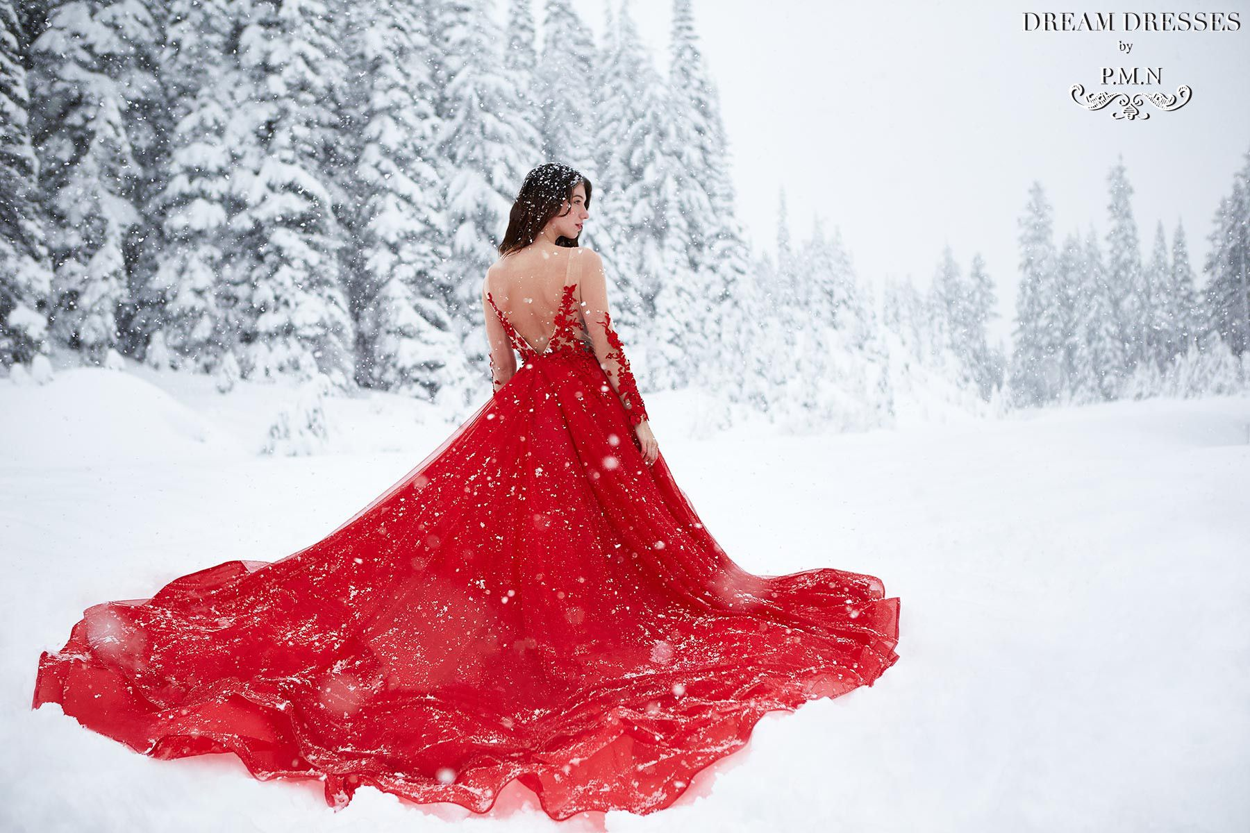 Winter Wonderland Styled Shoot Ball gowns, Dresses, Gowns