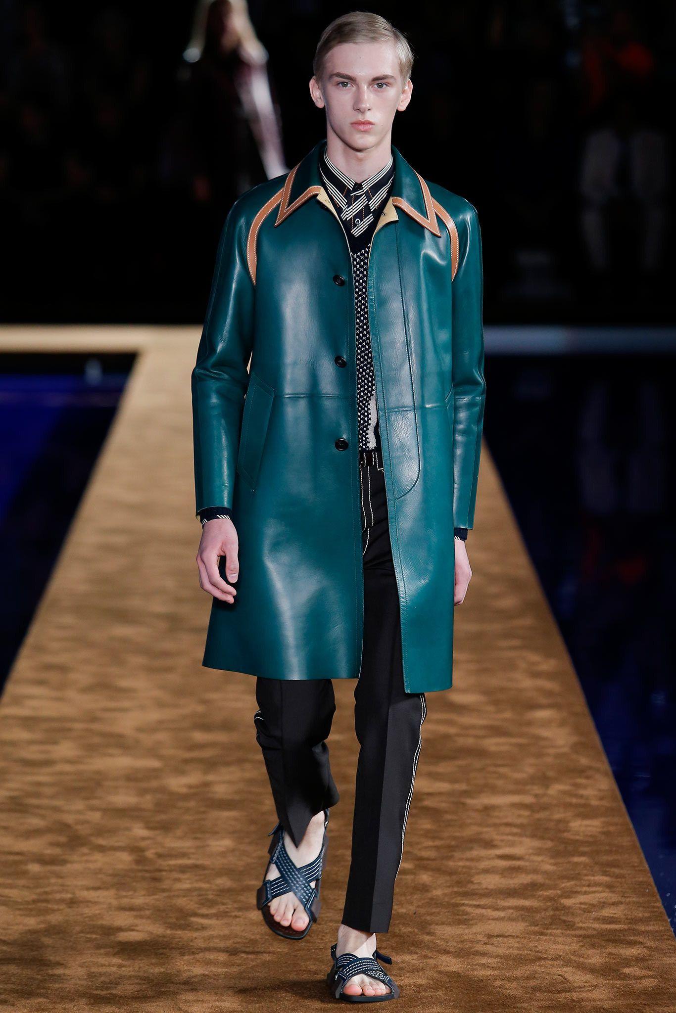 Prada Spring 2015 Menswear Fashion Show - Dominik Sadoch
