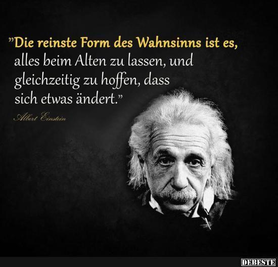 Die Reinste Form Des Wahnsinns Ist Es Lustige Bilder Spruche Witze Echt Lustig Lebensweisheiten Spruche Weisheiten Spruche Einstein Zitate