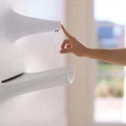 The Claytronic Kitchen Wall. This Living Kitchen by Michael Harboun is the future of nanotechnology.