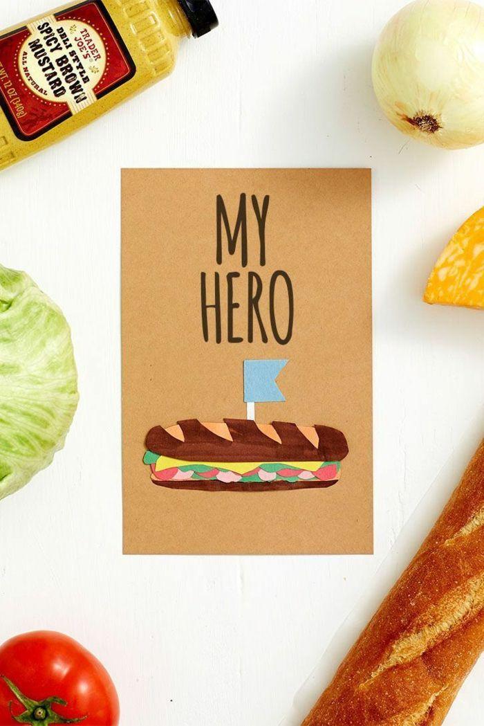 ▷ 1001 + ideas de tarjetas del día del padre DIY paso a paso