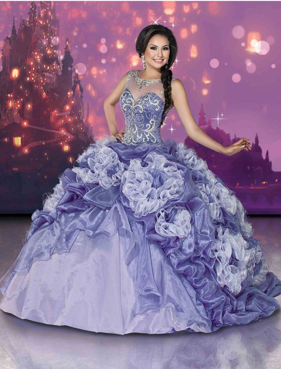 248f7ddbf8 Princess Rapunzel inspired gown from Disney Royal Ball Style Number 41078  coming soon to Dresses By Russo.  dressesbyrusso  quinceanera  dress   ...