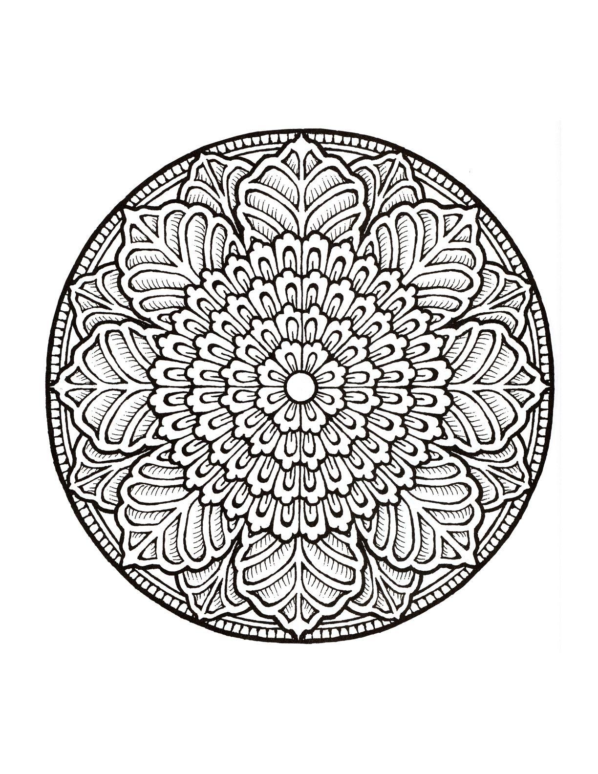 Mystical Mandala Coloring Book Mandalas De Colores Libro De