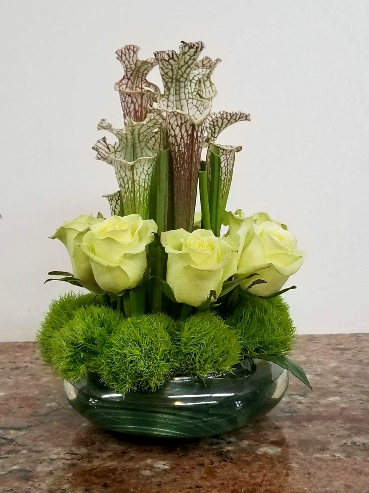 Swamp Lilies And Roses A Marc In Design Ft Lauderdale Fl