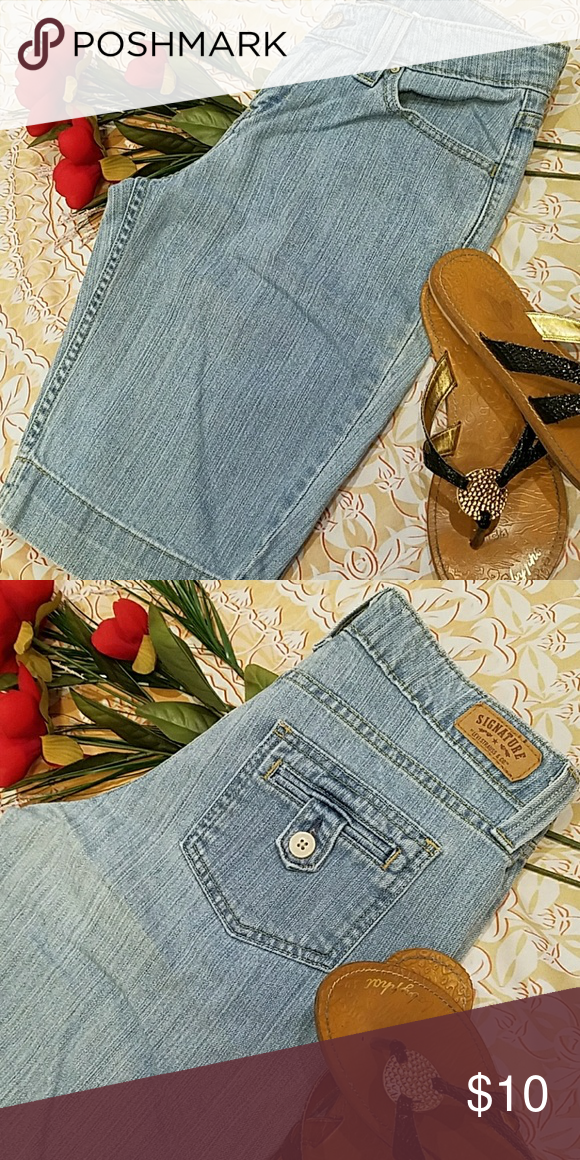 ffba10286f LEVI SIGNATURE LONG SHORTS Very gently worn, in perfect condition, Levi's  denim long shorts