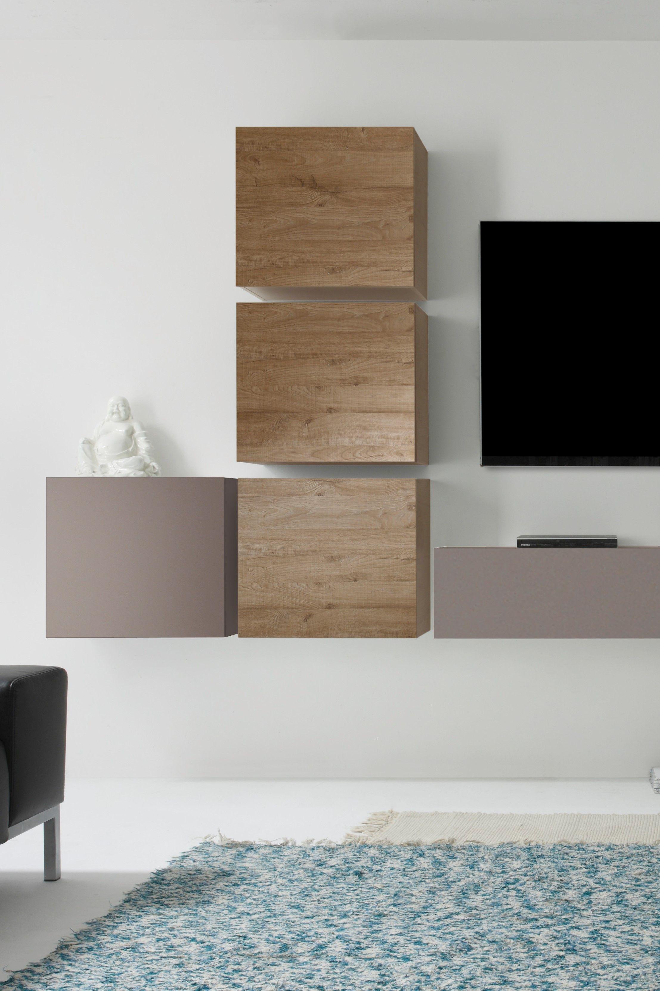 Wohnaura Modern Wohnen Schrankwand Zimmereinrichtung