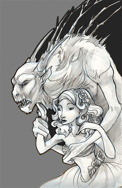 The Beast and the Beauty by zirofax.deviantart.com on @deviantART