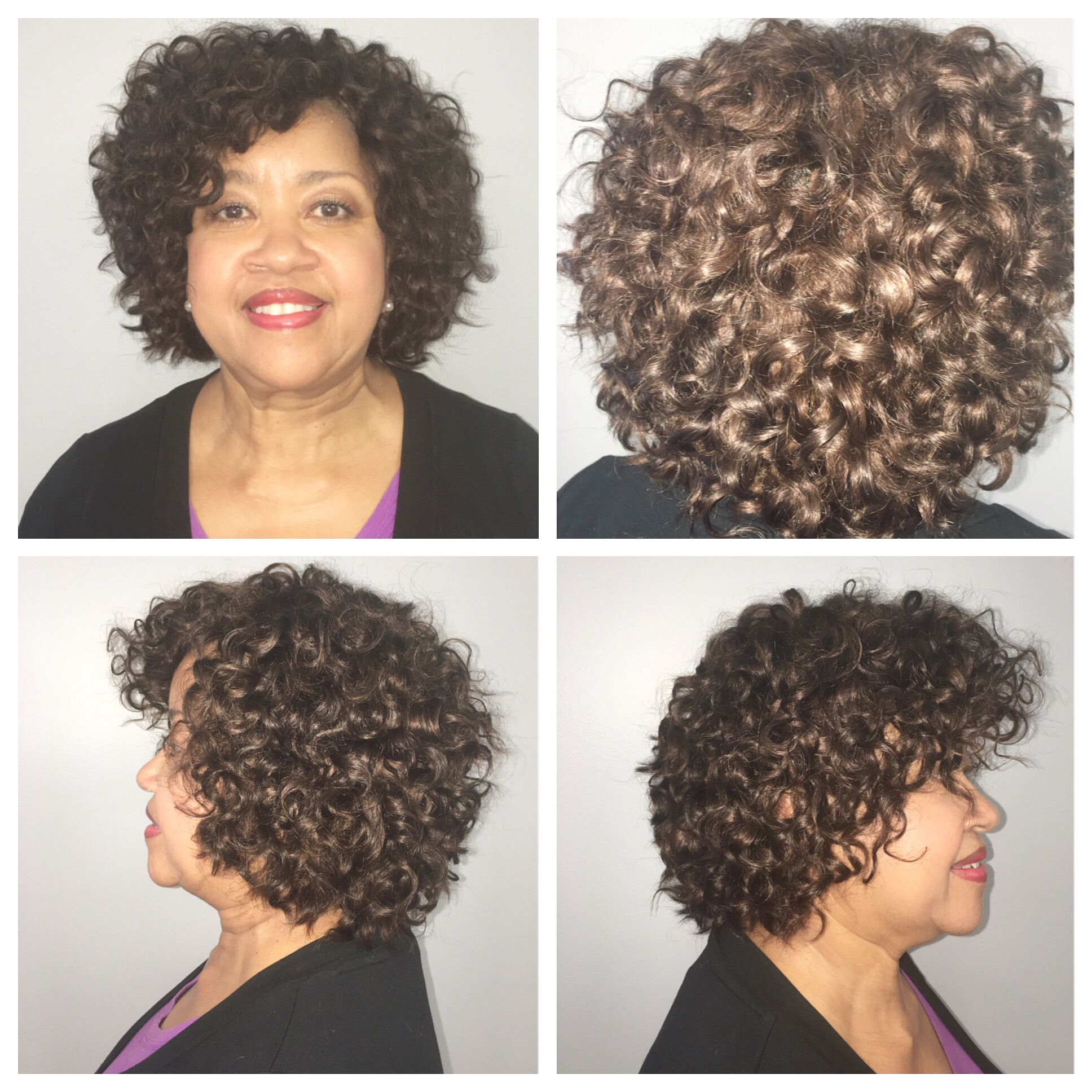 Full Sewin In Custom Colored Medium Curly Luxe Lengths Extensions
